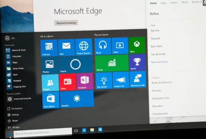 微软据称破坏了Windows10搜索