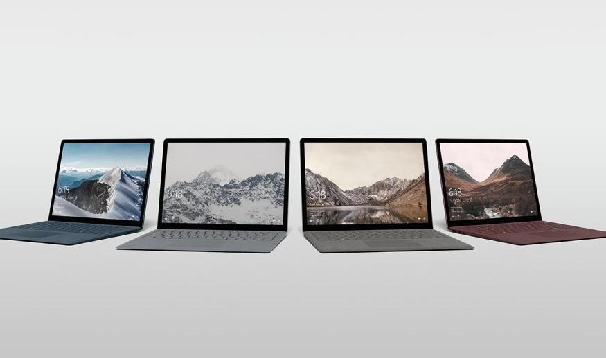 微软的下一代Surface笔记本电脑可能会从英特尔转向AMD CPU