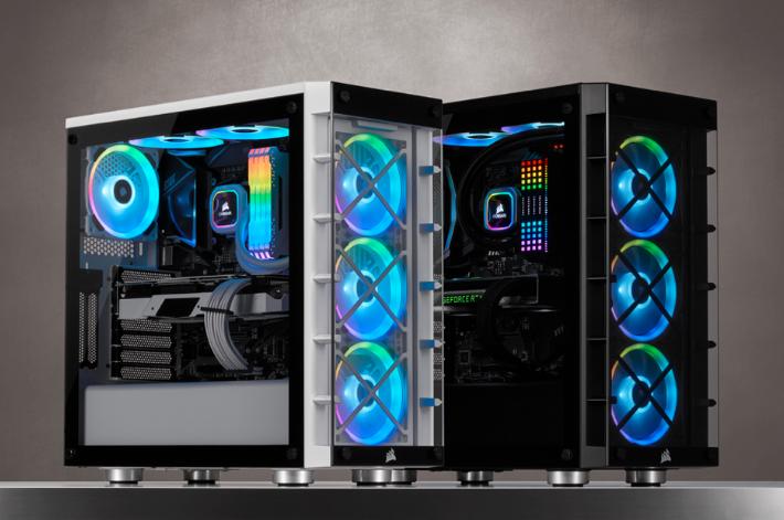 海盗船宣布推出iCUE 465X中塔机箱大量RGB和驱动器空间