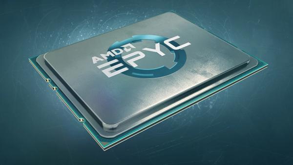 AMD EPYC 7H12 罗马 CPU面世拥有64个Zen 2核 280W TDP