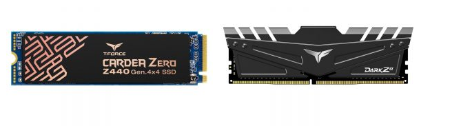 TeamGroup宣布的新产品包括高速DDR4和PCIe Gen4 M.2 SSD