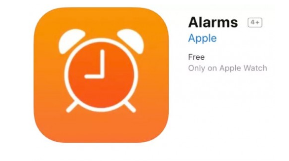 Apple Alarms应用程序的屏幕快照提示即将推出的Sleep应用程序