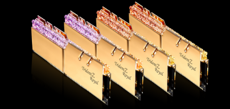 G.Skill的Trident Z Royal DDR4-4000在AMD和Intel上跌至CAS 15