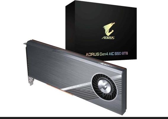 技嘉科技推出AORUSGen4AICSSD8TB读写速度达15,000MBs