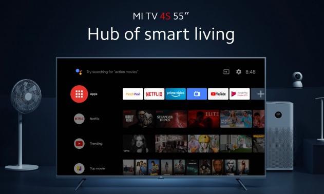 小米在欧洲推出Mi TV 4S 55英寸售价449欧元
