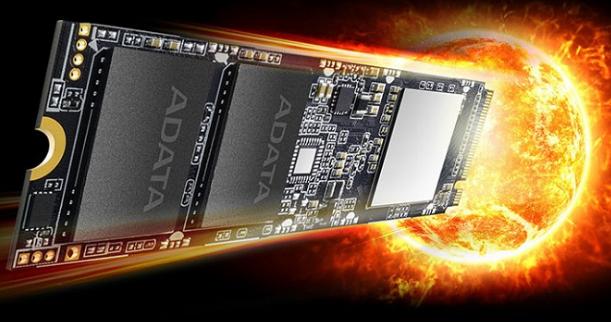 XPG SX8100是2TB NVMe驱动器 具有超过3000MB s的读取和写入速度