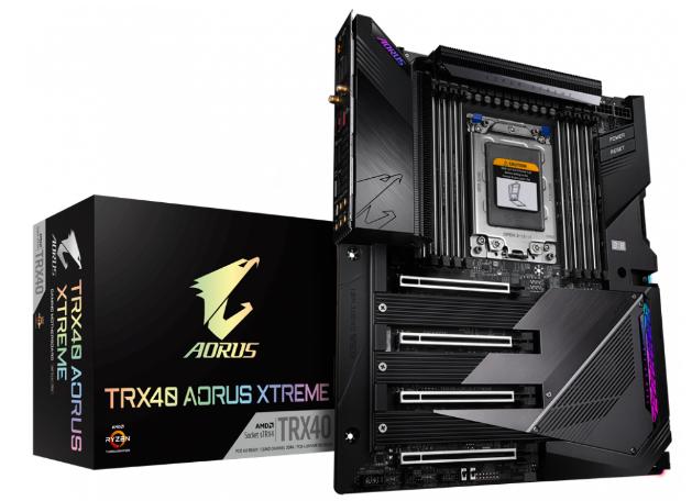 技嘉发布AMD Ryzen Threadripper 3000主板系列