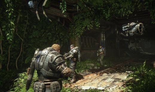 Gears 5更新添加了新设置以使用AMD技术锐化图形