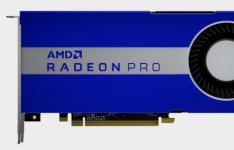 Radeon Pro W5700将Navi的影响力从玩游戏扩展到制作游戏
