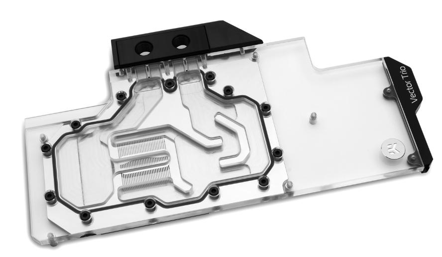 EKWB推出EK-Quantum Vector Trio RTX 2080 D-RGB水冷块