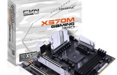 多彩发布CVN X570M Gaming Pro用于AMD锐龙CPU的mATX主板