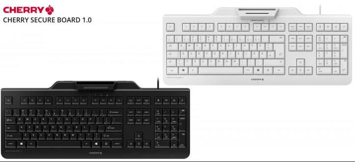 CHERRY推出SECURE BOARD 1.0安全键盘