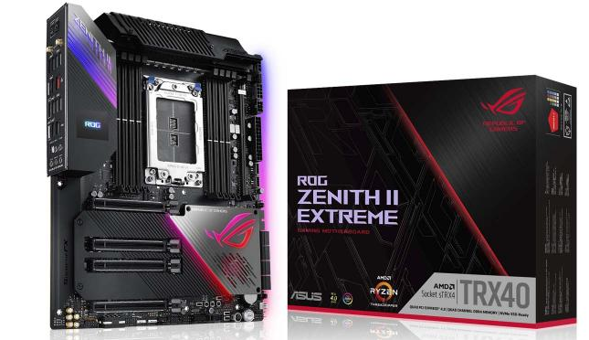 华硕推出ROG Zenith II Extreme并打破纪录