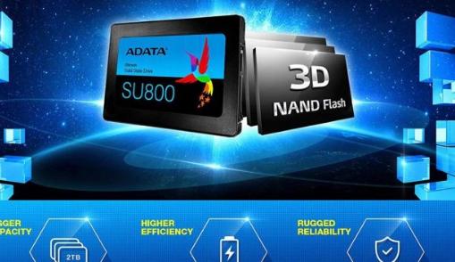 Adata Ultimate SU800 2TB 3D NAND 2.5英寸SATA III SSD售价为188美元。