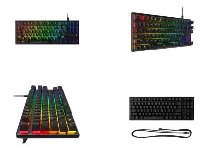 HyperX推出Alloy Origins Core Tenkeyless机械键盘