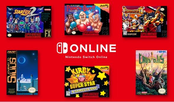 任天堂为其NES和SNES的Nintendo Switch Online服务增加了6种新游戏