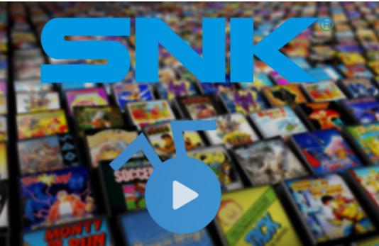 复古游戏流媒体平台Antstream Arcade与SNK合作