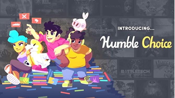 Humble Choice正式上线有十款游戏可供选择