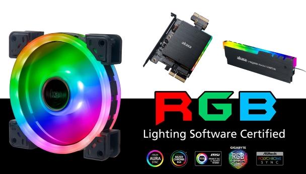 Akasa RGB产品现已获得Razer Chroma认证