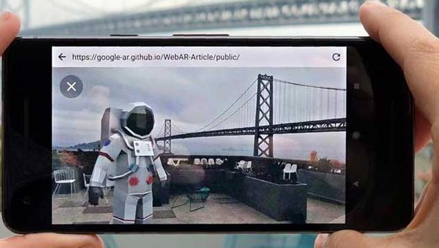 Google最新的ARCore API仅需一部摄像机即可进行深度检测