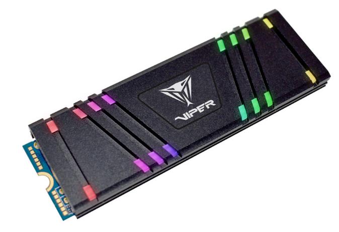 VIPER GAMING推出VPR100 M.2 2280 PCIeGen3 x4 RGB固态驱动器