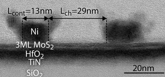 Imec制造超越硅的MoS2 2D晶体管