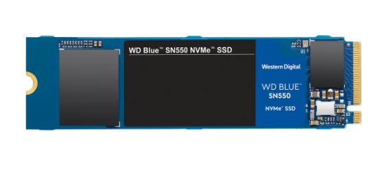 WD推出最高1TB的Blue SN550 M.2 SSD