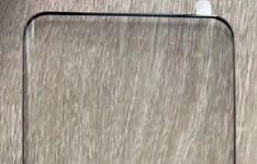 小米米10屏幕保护膜泄漏显示弯曲的玻璃