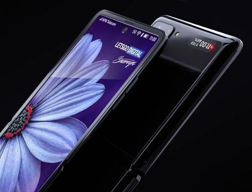 三星Galaxy Z Flip的样机渲染看起来很棒