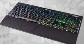 海盗船的K70 RGB机械键盘在英国有30%的折扣销售