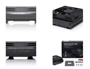 Noctua宣布用于AM4的Chromax Black NH-L9a低调CPU散热器