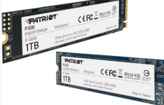爱国者发布便宜的P300 M.2 PCIe SSD