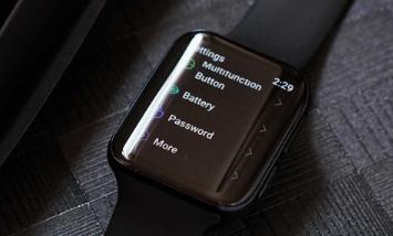 Oppo智能手表的第一张实时图像揭示了Google Wear OS
