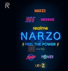 Realme将推出新的Narzo智能手机系列以应对Redmi和POCO