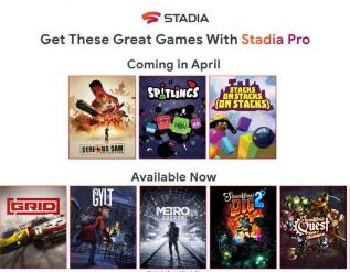 Stadia Pro将在4月失去Metro Exodus和Thumper
