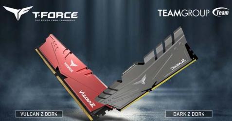 TEAMGROUP增加了带有32GB模块的DARK Z和VULCAN Z套件