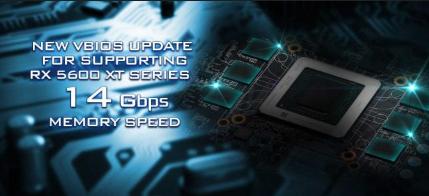 华擎发布支持14Gbps内存时钟的RX 5600 XT系列的vBIOS更新