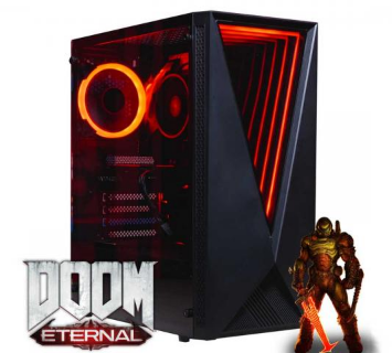英国超频者推出了受DOOM启发的OcUK Ballista游戏PC