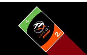 希捷FireCuda Gaming 2 TB SSHD驱动器的售价为75美元