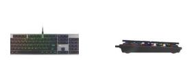 创世纪发布新的薄型雷神420机械键盘