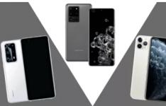 华为P40 Pro Plus与三星Galaxy S20 Ultra的对比