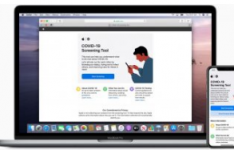 Apple通过iPhone应用程序和网站帮助筛选冠状病毒