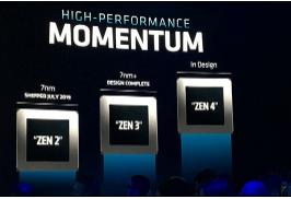 AMD锐龙4000台式机CPU将于9月到货