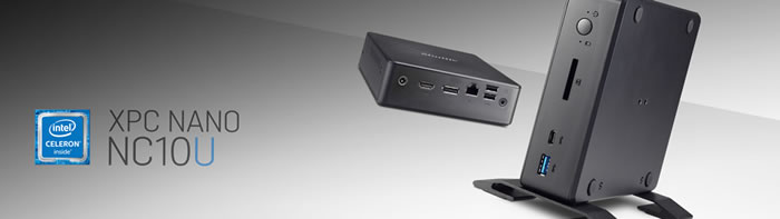 Shuttle的Nano PC系列的最新产品NC10U