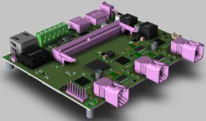 NVIDIA Jetson Xavier NX模块的PCB提供12个摄像头与传感器输入