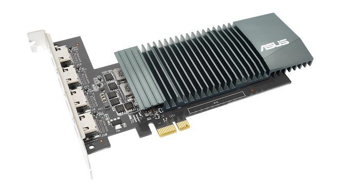 华硕发布了一款老式GPU 具有四个4K HDMI端口