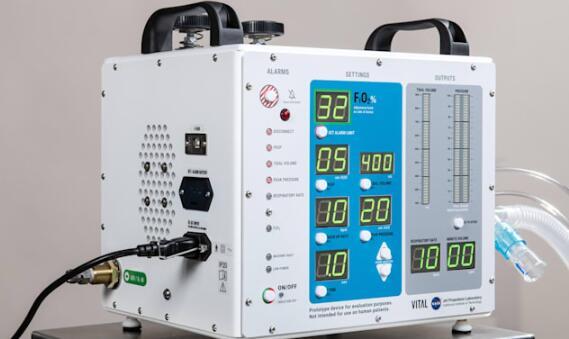 NASA将向制造商免费授权其FDA批准的呼吸机