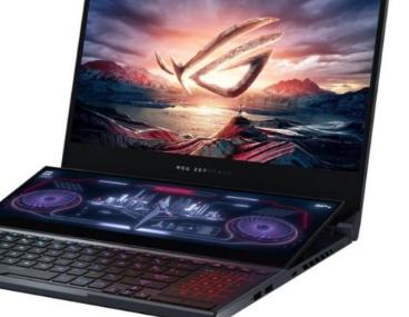 华硕Rog Zephyrus Duo 15是一款双屏游戏笔记本电脑