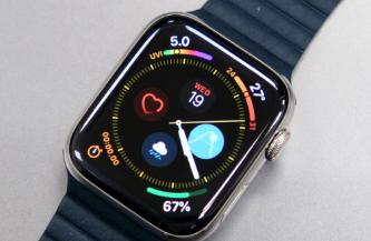 苹果最早可能在明年的Apple Watch上使用microLED