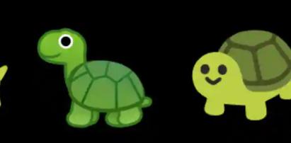 安卓Android11的表情库显示可爱的乌龟与其他斑点一起回来了